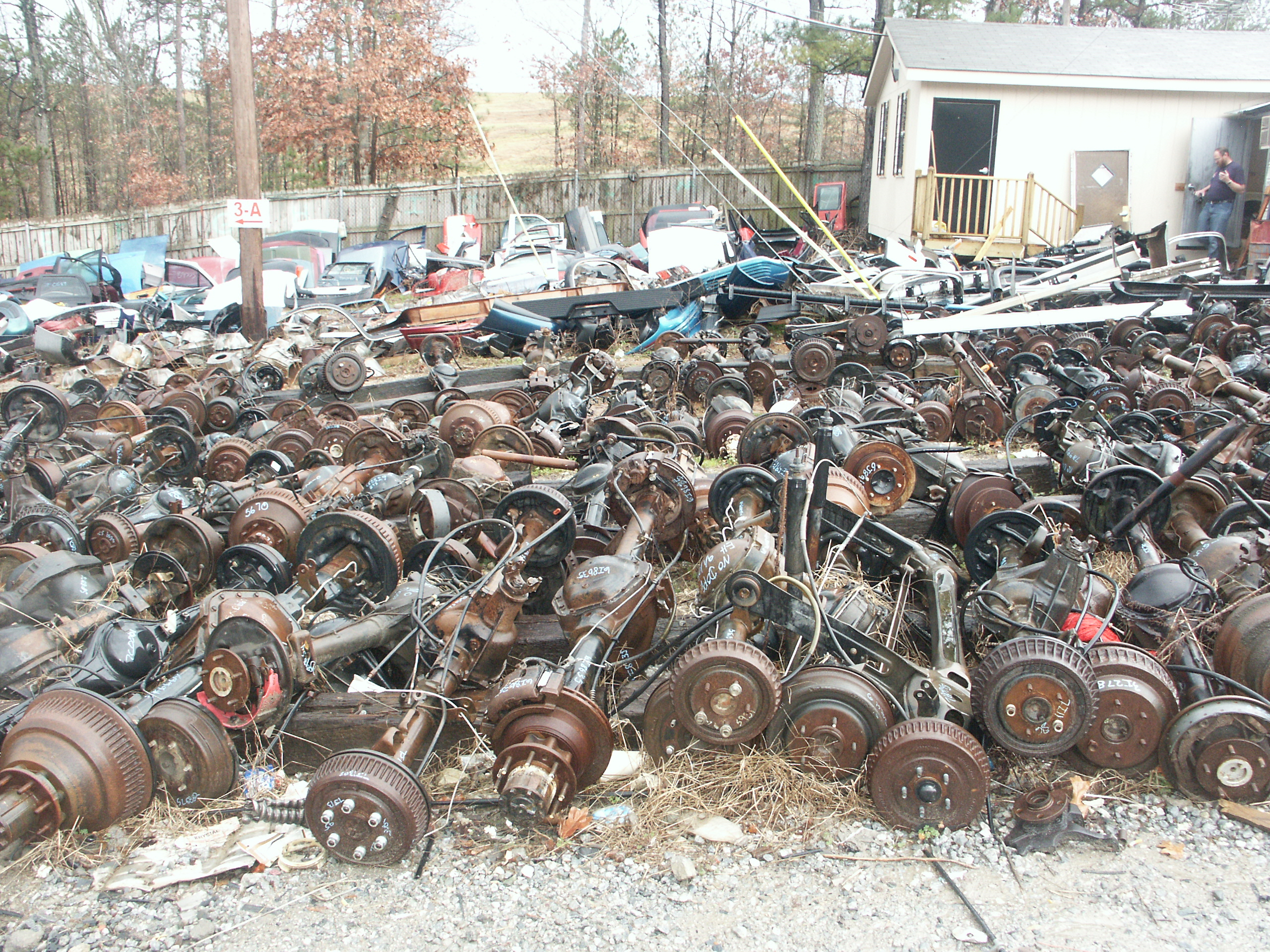 Auto salvage parts yards near me